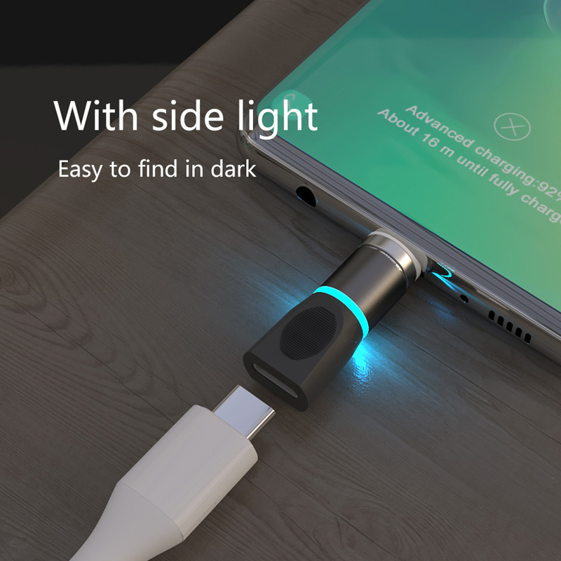 USB Type C Magnetic Adapter For Samsung S20 S10 S9 Plus Note10 9 C9pro A50 A40 A30 LG G8 G7 V30 LG G8 G7 G6 G5 Magnetic Charger