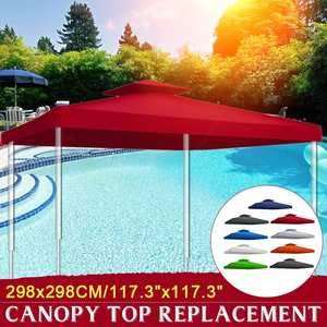 2pc/set New 3x3m Gazebo Tents 7 Colors Waterproof Garden Tent Gazebo Canopy Outdoor Marquee Market Tent Shade Party Pawilon(China)