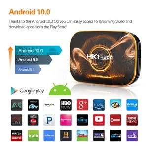 Image 3 - 2020 vontar hk1 rbox r1 caixa de tv android 10 4g 64gb rockchip rk3318 1080p 4k google play hk1 caixa jogo superior tvbox android 10.0