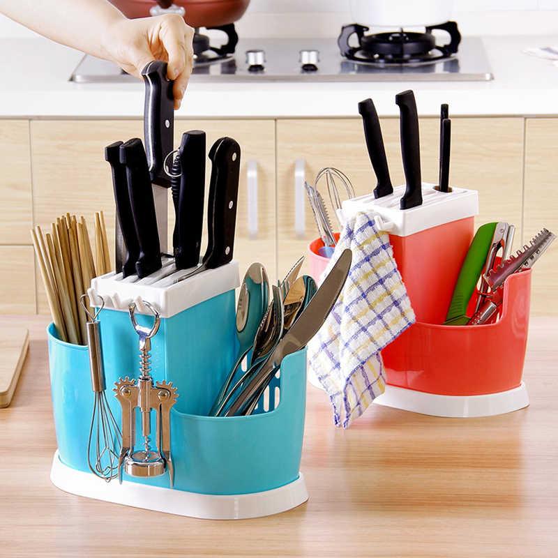 1 Pcs Multifunktions Kunststoff Regale Teller Stäbchen Besteck Lagerung Rack Ablauf Halter Sieb Stehen Kreative Küche Werkzeuge