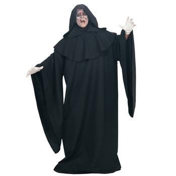 Fear Dark Demon Ghost Cosplay Costumes Adult Men Halloween Party Masquerade Clothes Scary Scream Wizard Cloak Robe Costume tanie i dobre opinie Film i TELEWIZJA Zestawy Poliester