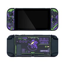 MONCON Purple EVA Case For Nintend Switch Add Protective Tempered Glass For NS Premium HD Tempered Glass Film cheap GeekShare CN(Origin) Nintendo NINTENDO SWITCH tb+5