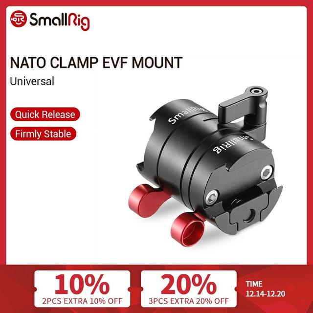 SmallRig  EVF Mount For Universal DSLR Camera Rotatable Monitor Camera Mount With Nato Clamp To Fix Monitor With Camera  2141