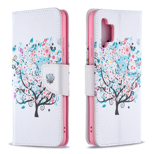 Image 4 - Painted Leather Flip Case For Samsung Galaxy A32 A52 A72 A12 A02 A02S 5G A42 A21 A21S A31 A51 A71 Soft Phone Cover Wallet Coque