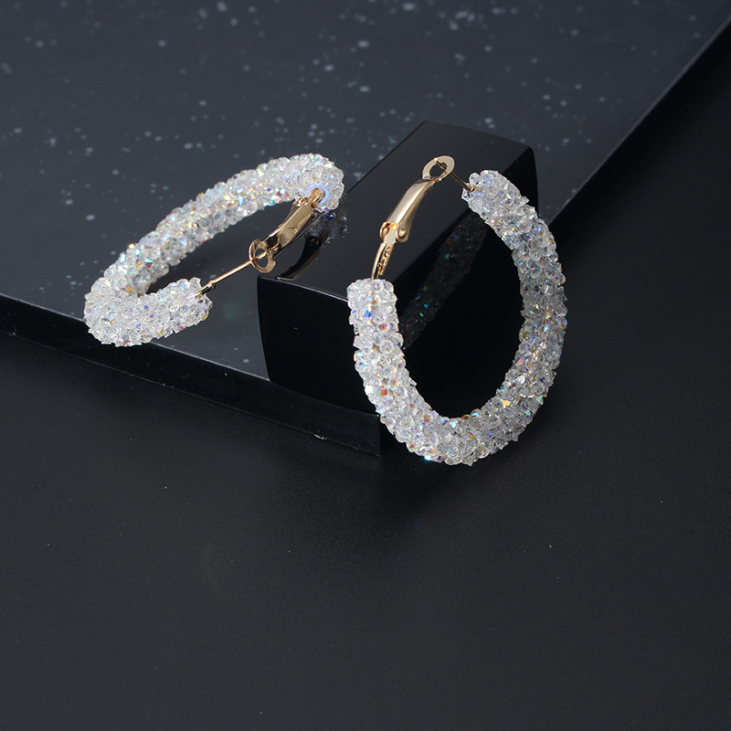 2020 fashion gold crystal beautiful trend female Earrings