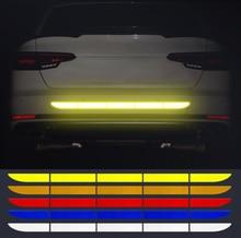Auto Stamm Reflektierende Streifen Aufkleber für Toyota Auris Corolla Avensis Verso Yaris Aygo Scion TC IM