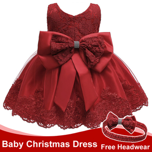 Infant Dress Summer Baby Girls Princess Party Dresses For Baby Christening Dress 2 1st Year Birthday Dress Newborn Baby Clothes(China)