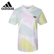 Original New Arrival  Adidas Originals Graphic Tee Women's  T-shirts short sleeve Sportswear