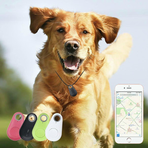 Pets Smart GPS Tracker Anti-Lost Waterproof Bluetooth Tracer For Pet Dog Cat Keys Wallet Bag Kids Trackers Collar Accessories