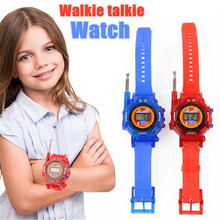 цена на Walkie Talkies Watches Remote intercom Watches for Kids 2 Way Radios Mini Walky Talky clear timbre Long Standby Interphone