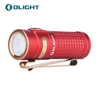 New Olight S1R Baton II Red 1000 lumens Magnetic USB charging flashlight