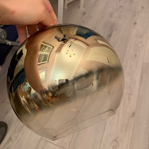 Image 4 - Blubble現代ペンダントライトシルバーゴールド勾配ガラス玉ぶら下げランプhanglampキッチン照明器具ダイニングリビングルーム