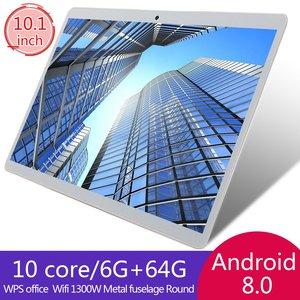 Tablet computador 10.1 Polegada notebook computador portátil wifi mini netbook usb slot teclado mouse tablets gps telefone