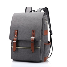 Outdoor canvas men #8217 s and women #8217 s big travel backpacks fashion backpacks new personality retro 2020 hot sales in this season cheap Oxford Embossing Unisex Softback NONE 56-75 Litre Soft Handle Arcuate Shoulder Strap 2020011304 Polyester zipper Solid