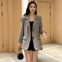 Autumn Spring Women Casual Blazers Coats New Fashion Korean Office Lad