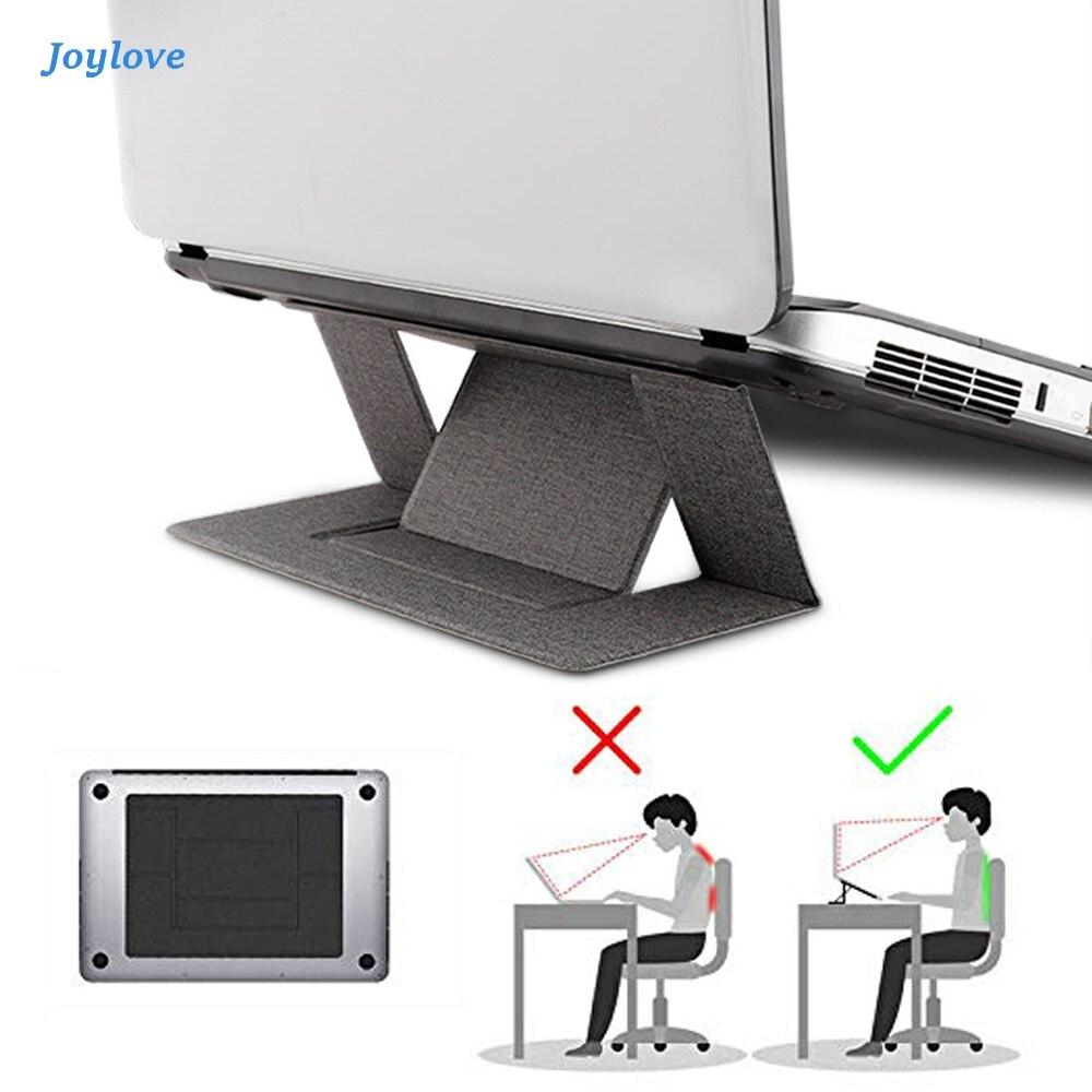 JOYLOVE Portable Adjustable Stand Convenient Pad Folding Bracket Function Tablet Holder For IPad MacBook Laptop
