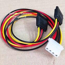 4pin ide molex fêmea para 2 fêmea serial ata sata dupla 15pin para 4pin y divisor adaptador disco rígido fonte de alimentação cabo conector