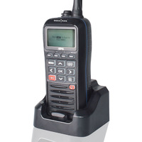 SOCOTRAN RS 38M GPS Marine Two Way Radio VHF Handheld Floats Waterproof IPX7 ATIS code Tri watch 156.025 157.425MHz Transceiver