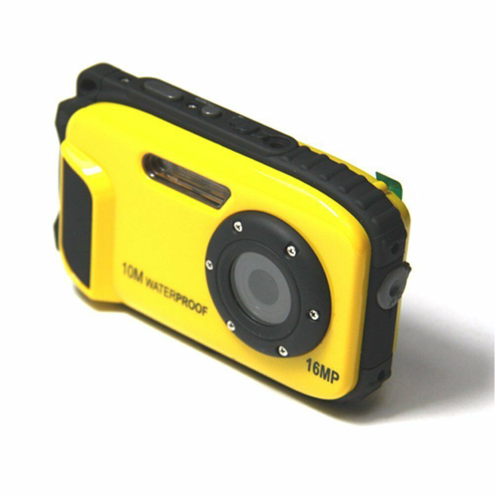 16MP Anti Shake Camcorder Handheld LCD Display Digital Video USB HD Outdoor Detection Diving Underwater Sports Waterproof Camera