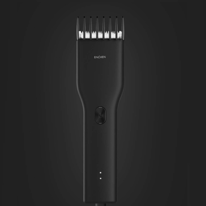 in Stock Youpin Enchen Boost USB Electric Hair Clipper Two Speed Ceramic Cutter Hair Fast Charging Hair Trimmer Children 2
