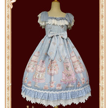 The Cake Salon ~ Sweet Lolita JSK Dress Empire Chiffon Dress by Infanta