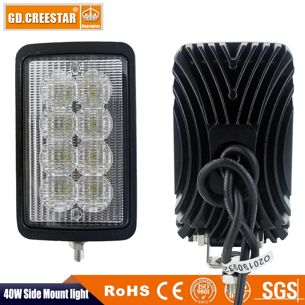 6x4 Rectangular Led Tractor Lights For Case IH 5120,5130,5140,5220,5230,5240,5250,7110,7120,7130,7140,7150,7210 92266C1 X1pc