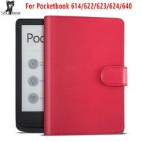 Pokrowiec na pocketbook 622 pocketbook 623 624 e booki pokrowiec na pocketbook 614 Pocketbook 626 pocketbook 624 PB640 capa w Obudowy na tablety i czytniki od Komputer i biuro na