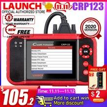 Lancio X431 CRP123 CRP123E OBD2 Auto Scanner Supporto ABS/SRS/Cambio/Motore Sistema di CRP 123 OBD 2 strumento di diagnostica di Aggiornamento di trasporto