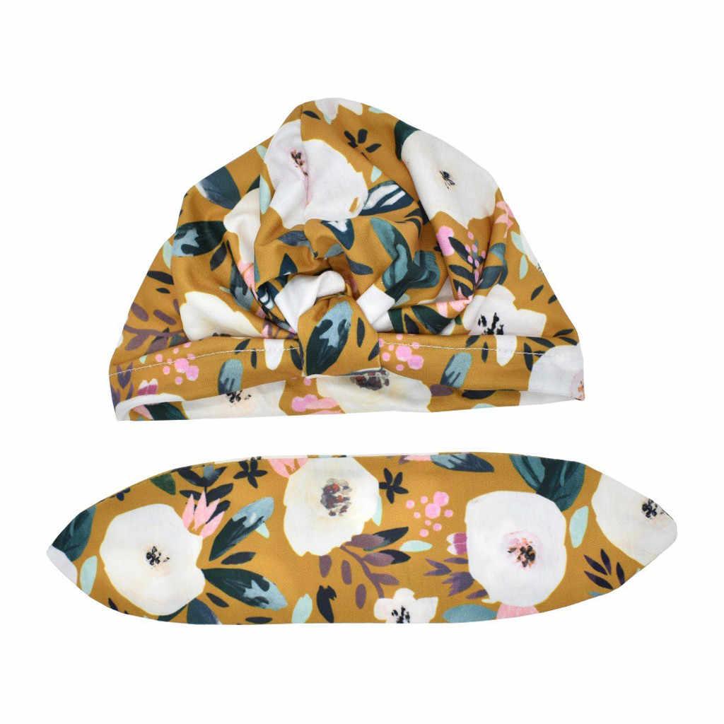 الوليد بيبي بوي فتاة الطفل قبعة الشمس الأزهار Bowknot قبعة طفل عمامة صور الدعائم للأطفال الاطفال قبعة 2020 جديد الصيف دروبشيب