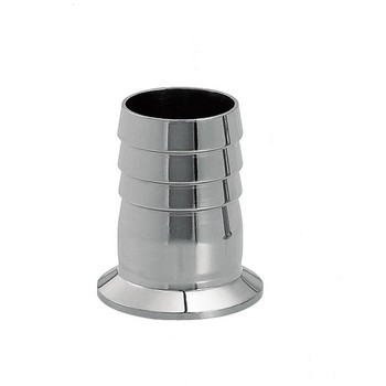 2.25 OD 57mm Stainless Steel SUS SS304 Sanitary Hose Barb Pipe Fitting Ferrule OD 77mm fit 2.5 Tri Clamp new arrival stainless steel ss304 quick install connector od 45mm sanitary elbow pipe fitting 45 degree 2 pcs lot