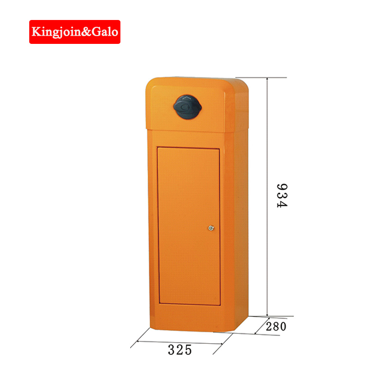 Factory Price Armless Arm No Railing Boom Electronic Car Park Barrier Gate Automatic Parking Lot Barrier Control Access System