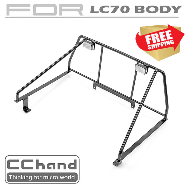 Radio control RC CChand KILLERBODY  LC70 BRX01 Rear roll cage option upgrade parts