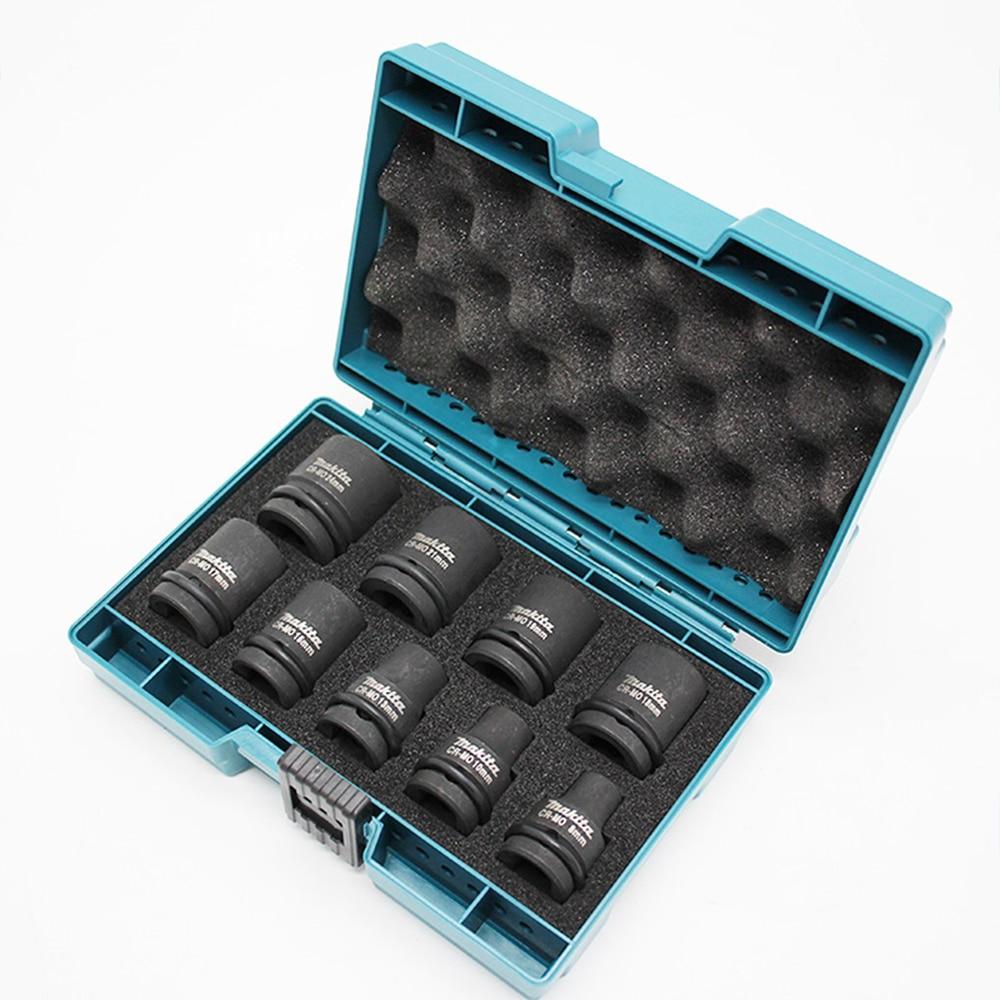 Оригинальный японский D 41517 Шестигранная головка 1/2 квадратная головка 9 набор 8 24 мм ударный Электрический гаечный ключ углеродистая сталь