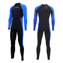 SLINX Unisex Full Body Diving Suit Men Women Scuba Diving Wetsuit Swimming Surfing UV Protection Snorkeling Spearfishing Wetsuit(China)