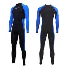 SLINX Unisex Full Body Duiken Pak Mannen Vrouwen Duiken Wetsuit Zwemmen Surfen UV Bescherming Snorkelen Onderwatervissers Wetsuit