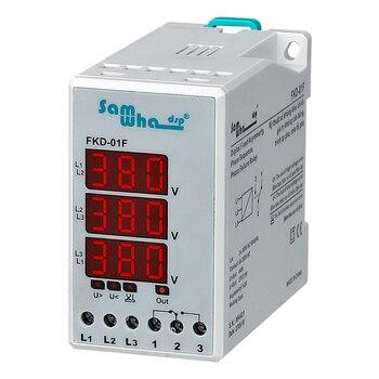Fallo de fase, sobretensión fija, bajo voltaje y Relé de Protección Digital de asimetría de fase
