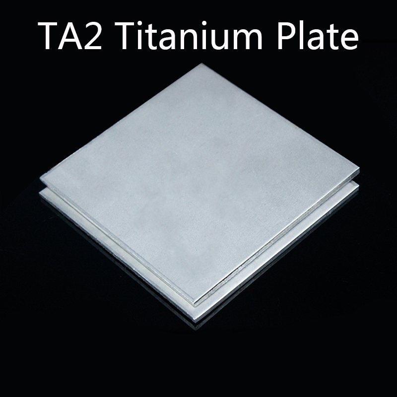 TA2 Thin Pure Titanium Sheet  Metalwoking Craft Titanium 200x200mm New DIY Material Thick 0.5/0.6/0.8/1mm Ti Alloy Sheet Plate