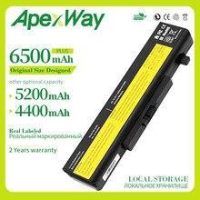 Apexway Новый аккумулятор для ноутбука Lenovo Y580 Y480 G510 G580 G710 G480 Z480 Z580 Z585 L11M6Y01 L11L6Y01 L11L6F01 l11l6l6r01 L11N6R01