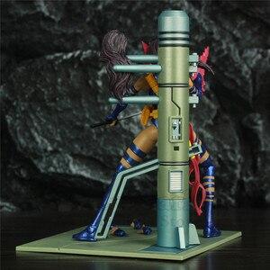 """Image 2 - Orijinal MS seçin X erkek Psylocke 7 """"Action Figure X MEN Mutant Elizabeth Betsy Braddock koleksiyonu DST elmas seçin oyuncaklar bebek"""
