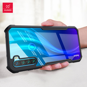 Xundd Shockproof Case For Redmi Note 8 Case Airbag Bumper Protective Phone Cover Transparent Shell For Xiao Redmi Note8 Case