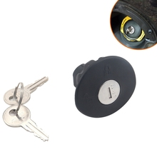 Car Locking Fuel Gas Tank Cover Cap with 2 Keys for Ford Lincoln 8U5Z9C268B