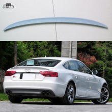 S5 style fiber glass rear trunk spoiler For Audi A5 sportback 4door 2007 - 2016 A5 FRP prime spoiler Wing (Not fit sline s5 rs5) uni fortune toys модель автомобиля audi a5 sportback цвет синий