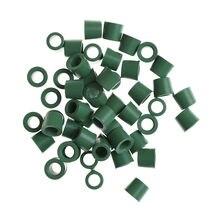 50 Stks/Partij Groen Airconditioning 1/4 ''Opladen Jargon 1/4 ''Klep Pakking Spruitstuk Reparatie Seal Kit Vervanging Groothandel