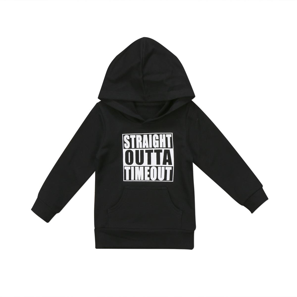 Pudcoco US Stock Newborn KIds Baby Boy Girl Clothes Hoodie Tops Hooded Sweatshirt Casual Outdoor Sport 7