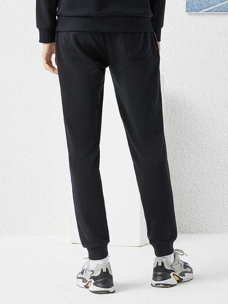 파이어 니어 캠프 2020 새로운 남성 스웨터 블랙 Streetwear Outwear 힙합 팝 패션 망 바지 AZZ0102019
