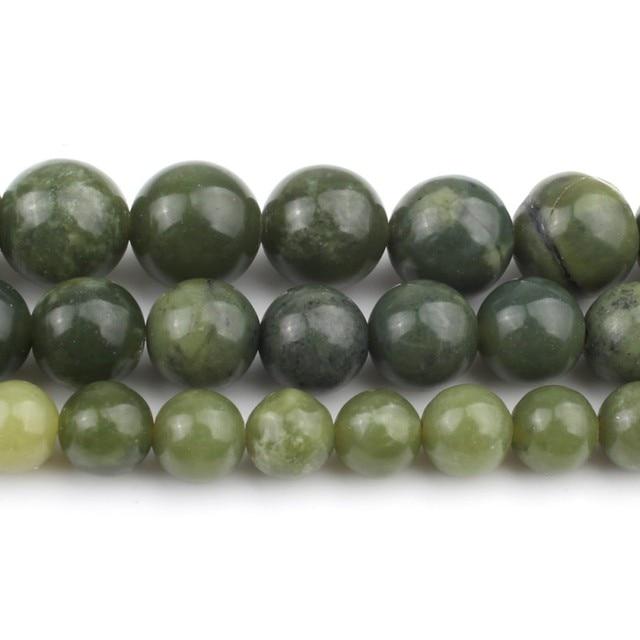 Bracelet Jade Vert Pierres Naturelles 2