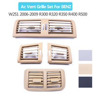 Interior Front Side Rear Air Conditioner AC Vent Grille For Mercedes Benz W251 2006 2009 R300 R320 R350 R400 R500