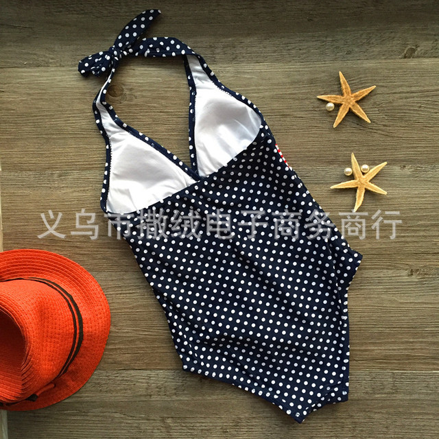 Childrens Polka Dot One-Piece Swimsuit One Product Dropshipping EBay AliExpress Hot Selling Model 14 Kids Bathing Suit