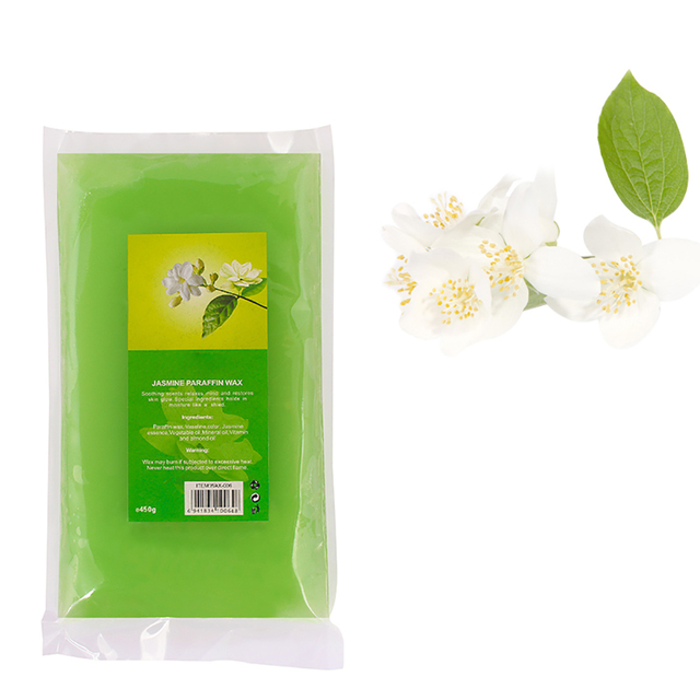 450g Paraffin Wax Bath Hands Mask Moisturizing Hydrating Nourishing Smooth Skin Hand Mask Remove Dead Skin Hands Care Wax Mask