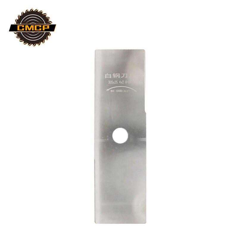 2T Silver Brush Cutter Blade Grass Trimmer Blade 305*90*2.0*25.4 Grass Cutter Parts Trimmer Knife Lawn Mower Accessories